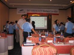 Hội nghị giới thiệu sản phẩm SamSung CCTV tổ chức tại TP Hồ Chí Minh- Việt Nam- Tháng 04/2007