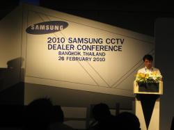 Hội nghị giới thiệu sản phẩm SamSung CCTV tổ chức tại Bangkoh- Thái Lan- Tháng 02/2010