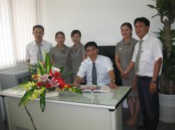 THÀNH LẬP PHÒNG BẢO HÀNH & CSKH CÔNG TY TNHH SÔNG HÀN 2009