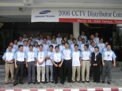 Hội nghị giới thiệu sản phẩm SamSung CCTV tổ chức tại Pattaya- Thái Lan- Tháng 03/2006