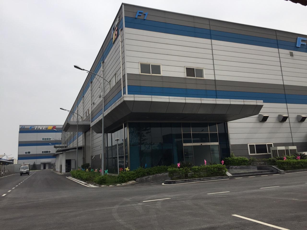 Hoàn thành lắp đặt hệ thống camera giám sát tại Công ty TNHH Fine MS Vina- KCN Quế Võ- TP. Bắc Ninh- T.Bắc Ninh