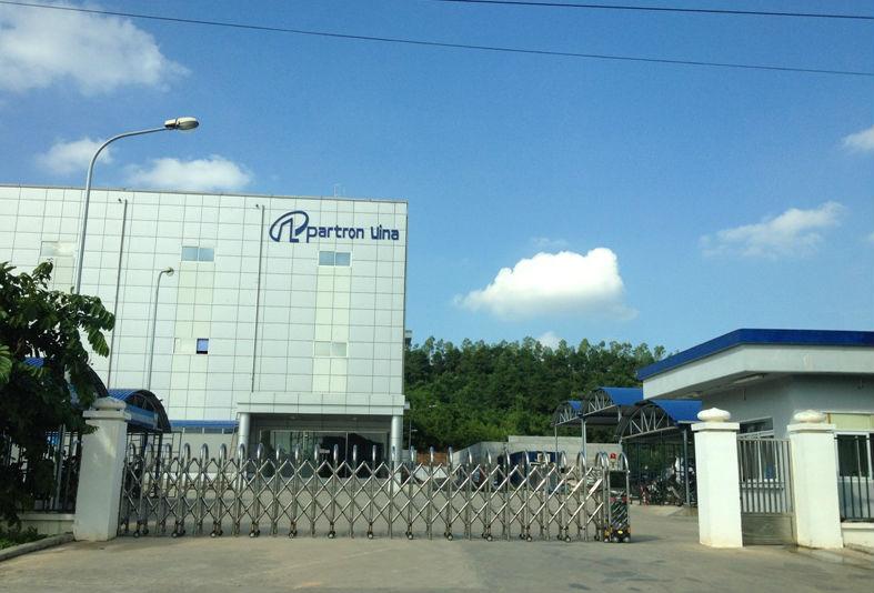 Hoàn thành cung cấp, lắp đặt hệ thống camera giám sát tại Công ty TNHH Partron Vina- Lô CN11- KCN Khai Quang- TP.Vĩnh Yên- T.Vĩnh Phúc.