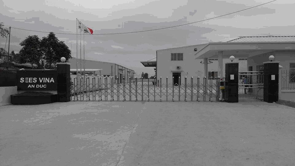Hoàn thành lắp đặt hệ thống camera giám sát cho Xưởng gia công và dạy nghề của Công ty TNHH Sees Vina tại Xã An Đức- Huyện Ninh Giang- Tỉnh Hải Dương.