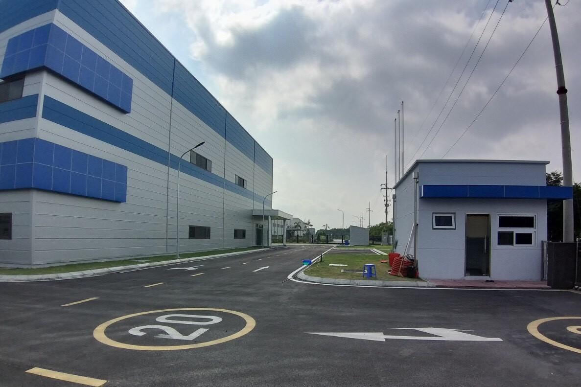 Hoàn thành lắp đặt hệ thống camera giám sát và thiết bị âm thanh thông báo cho Công ty TNHH HJ Corp Vina tại Nhà máy số 2- Lô 74B/75A- Số 55- Đường 11- KCN, Đô thị và Dịch vụ VSIP Bắc Ninh- X.Đại Đồng- H.Tiên Du- T.Bắc Ninh.