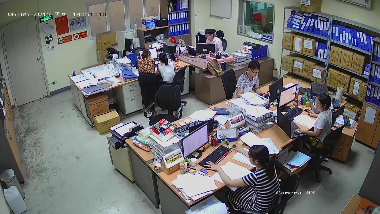 Hoàn thành lắp đặt hệ thống camera giám sát tại Công ty TNHH MTV Công nghệ cao Wiitech Việt Nam-  X.Vân Canh- H.Hoài Đức- TP.Hà Nội.