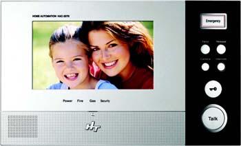 """HYUNDAI Монитор видеодомофона с функцией  """"hands free """" HAC-307N."""